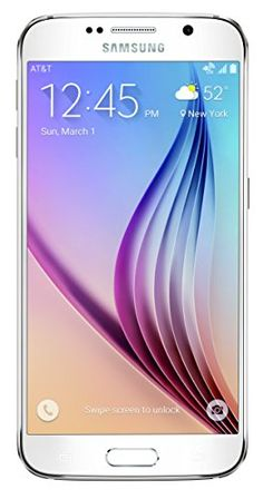 Samsung Galaxy S6, White Pearl 64GB (AT