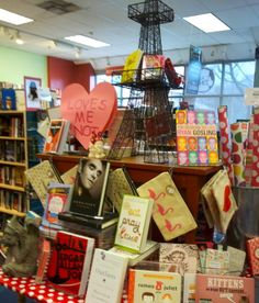 "Our Valentine's display: ""Loves me not..."" side (PSB 2014)"