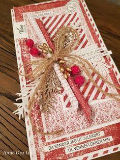 Kort & Godt Galleri: Shabby jul i rødt