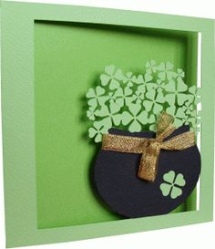 View Design: clovers card
