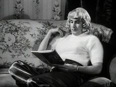 Ed Wood loved angora sweaters and wrote his scripts wearing it.