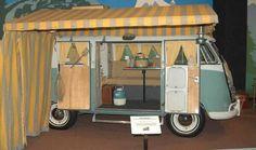 Volkswagen microbus camper