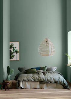 I like the wall color