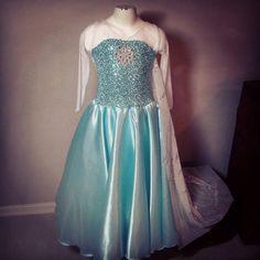Congelado de disfraces de halloween Elsa inspirado traje 5