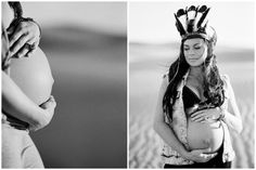 Inspired by This Indie Maternity Session in the Sand Dunes | Inspired by This Blog