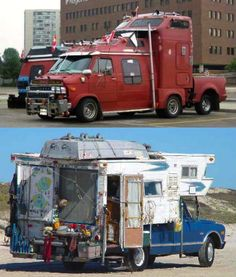 Got to love them creative peeps that will do anything to have an RV camper!