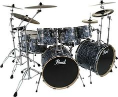 """Rocking Musical Instruments """" Pearl Drums """" 