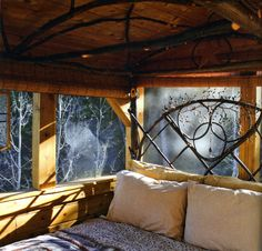 a cabin in the woods - from: Autumn Cottage mag/2011