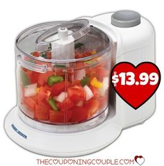 WOW! Get a 1½ Cup Food Chopper for only $13.99! Perfect for those smaller jobs!  Click the link below to get all of the details ► http://www.thecouponingcouple.com/black-decker-1%c2%bd-cup-chopper-only-13-99/  #Coupons #Couponing #CouponCommunity  Visit us at http://www.thecouponingcouple.com for more great posts!