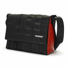 Borsa Messenger 13 Red by Mnmur