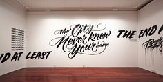 The city never knew your name by Gemma O'Brien