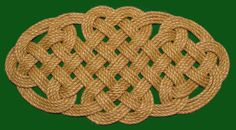 2 Hearts Celtic Lovers Knot by theropedoctor on Etsy
