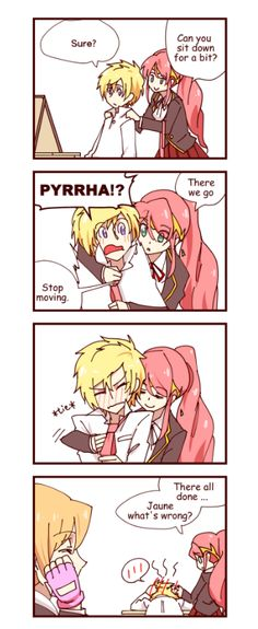 In my head canon, Nora is an arkos shipper. – Cloudssj43 edited the English in this comic!