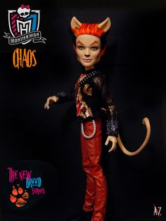 Monster High: Chaos  New Breed Series