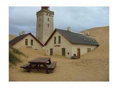 Rubjerg Knude - a lighthouse lost in sand - Ålborg