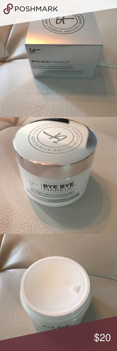 Bye bye makeup cleansing balm Brand new in box sealed. Great make up remover. Removes even tough waterproof mascara it cosmetics Makeup