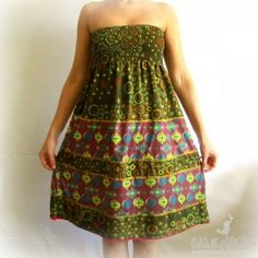 Vestido Étnico - Calendula
