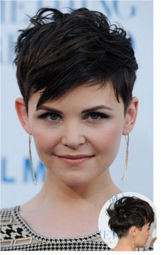 This is my cut, went longer last time, but I'm going back to the super-short! Hope i rock it as well as Gennifer :)