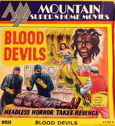 HORRORPEDIA | Beast of Blood aka Blood Devils – Philippines, 1970: updated Home Movies, Horror Movies, Thriller, Twilight, Philippines, Devil, Crime, Beast, Blood