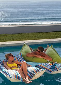 Pool Floats designed exclusively for Frontgate!