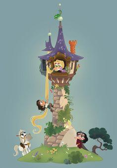 1 of my fave #Rapunzel #Tangled #fanart by David Gilson #disneyanimation #Disneyprincess #animation @LePrinceKido