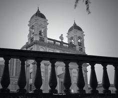 Uno sguardo in bianco e nero (Chiesa di San Vincenzo Martire, Bassano R., Vt)