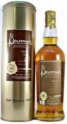 Benromach 30 year old Scotch Whisky 43% 70cl
