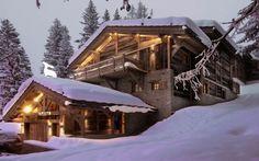 Chalets   winterurlaub   einrichtungsideen   wohnideen   wohndesign   luxus möbel   luxusmarken Lesen Sie weiter: http://wohn-designtrend.de/atemberaubende-luxus-chalets-fuer-winterurlaub-der-natur/