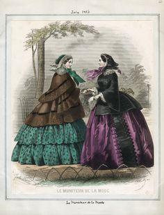July, 1856 - Le Moniteur de la Mode
