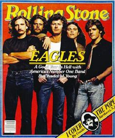The Eagles music holds strong. Old or new stuff, it's still perfect harmony to my ears. Eagles Music, Eagles Band, Eagles Live, Cultura Pop, Dr Hook, History Of The Eagles, Rolling Stone Magazine Cover, Rap, Grunge