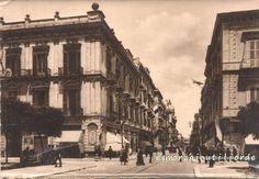 1945 - BARI Via Vittorio Veneto  #BiancoENero, #BlackWhite, #BN, #BW, #cartolina, #piazza, #postcard, #square, #vintage #iwantotdotoday #ilmondoincartolina #thepostcardworld