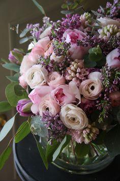 Roses | Ranunculi | Lilacs | Hyacinths | Tulips | Eucalyptus