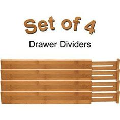 "Episode 10: ""Organization and DIY Storage Solutions."" Charlotte mentioned these drawer dividers."