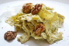 Ein himmlisches Gericht für alle Pasta-Liebhaber bereiten Sie mit diesem #Rezept zu. Die Bärlauchnudeln schmecken einfach toll.