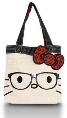 Hello Kitty Nerd Face Tote