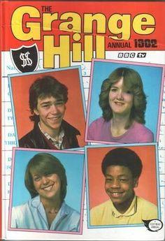 The Grange Hill Annual #Lovethe80s #GrangeHill