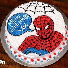 Spider-man birthday cake  #spiderman #birthdaycake #spidermancake #spidermanbirthdaycake #cake #cakes #gateau #nhicanbake #nhichanbakingdom