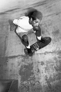 some old school skateboarding