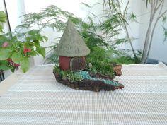 """The Hut"" Fairy House Landscape"