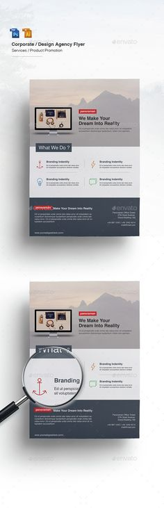 Multipurpose Business Flyer Template PSD, Vector AI. Download here: http://graphicriver.net/item/multipurpose-business-flyer/15233136?ref=ksioks