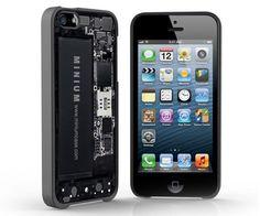 Skeletonized iPhone 5 Case