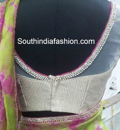 Bridal Saree Blouses ~ Celebrity Sarees, Designer Sarees, Bridal Sarees, Latest Blouse Designs 2014