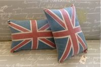 Home Furnishings & Decor Caught My Fancy Union Jack Pillow, Uk Fashion, Home Furnishings, British, Textiles, Fancy, Throw Pillows, Decor, Style