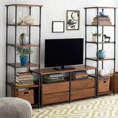 Pipe Media Set - inspiration from West Elm