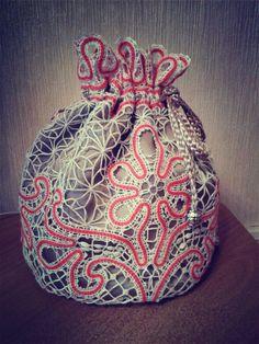 Сумочка с вологодским кружевом - Аня Журавлева