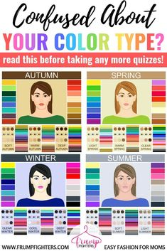 Simple & Easy: How Seasonal Color Analysis Works (+ the Different Methods Explained) — Frump Fighters Spring Color Palette, Spring Colors, Deep Winter Colors, Summer Color Palettes, Cool Winter Color Palette, Light Spring Palette, Deep Autumn Color Palette, Soft Summer Color Palette, Warm And Cool Colors