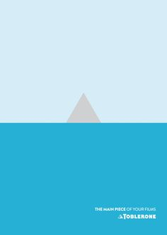 Toblerone Creates Minimalistic Movie Posters While Reminding You Of The Snack - DesignTAXI.com