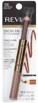 Revlon Brow Fantasy Pencil - Gel Dark Brown 1 ea (Pack of Eye Make-up Remover, Make Up Remover, Brow Color, Gel Color, Fill In Brows, How To Color Eyebrows, Eyebrow Pencil, Color Shapes, Eye Make Up