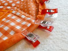 How to Use Clover Wonder Red Clips- these are the greatest things since sliced bread. :)