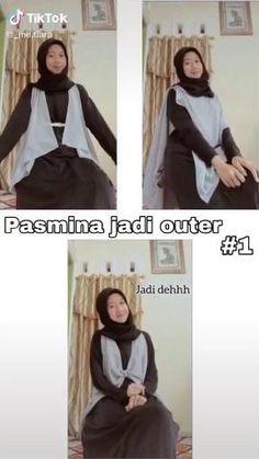 Simple Hijab Tutorial, Hijab Hipster, Hijab Fashion, Fashion Outfits, Casual Hijab Outfit, Hijabs, Galaxy Wallpaper, Ootd, Creative